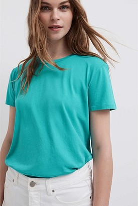 Witchery Crew Neck Washed Tee