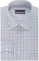 Geoffrey Beene Men's Classic-Fit Danish Blue Checked Dress Shirt