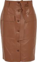 Jonathan Saunders Edith leather skirt