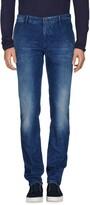 Incotex Denim pants - Item 42613455