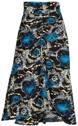 A.L.C. Mabelle A-line Printed Skirt
