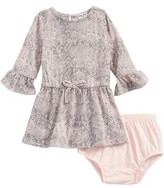 Splendid Infant Girl's Snakeskin Print Dress
