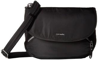Pacsafe Stylesafe Anti-Theft Crossbody Bag (Black) Cross Body Handbags