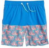 Vineyard Vines Chappy Fan Palm Print Swim Trunks