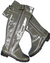 MICHAEL Michael Kors Grey Patent leather Boots