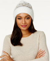 Charter Club Fair Isle Chenille Cuff Hat, Only at Macy's