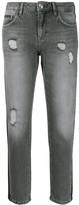 Philipp Plein distressed boyfriend jeans