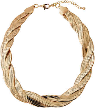 Natasha Accessories Limited Braided Snake Chain Necklace