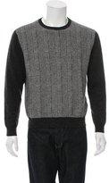 Façonnable Cashmere Glen Plaid Sweater