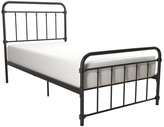 Atwater Living Wyn Metal Bed, Black, Twin