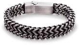 Steve Madden Men's Double Franco Chain Bracelet
