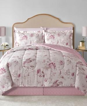 Sunham Lauren Reversible 8-Pc. King Comforter Set Bedding