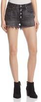 Levi's 501® Cutoff Shorts in Shredded Onyx