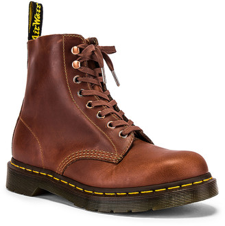Dr. Martens 1460 Pascal Soap Stone Boot in Tan | FWRD