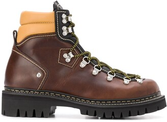 DSQUARED2 Chunky Sole Hiking Boots
