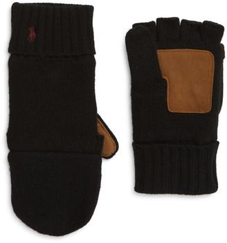 Polo Ralph Lauren Wool Blend Convertible Glove
