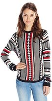 Townsen Women's Ikat Long Sleeve Sweater