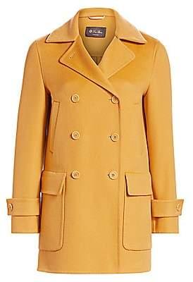 Loro Piana Women's Maxfield Double Breasted Cashmere Coat