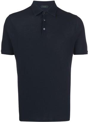 Zanone Short-Sleeve Polo Shirt