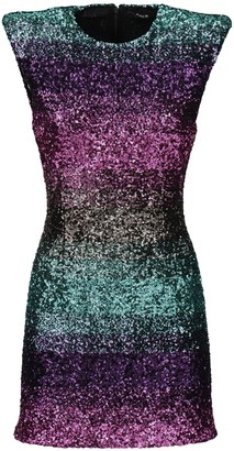 Amen Degrade Sequined Mini Dress