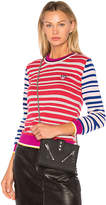 Kenzo Fancy Collar Comfy Sweater in Pink