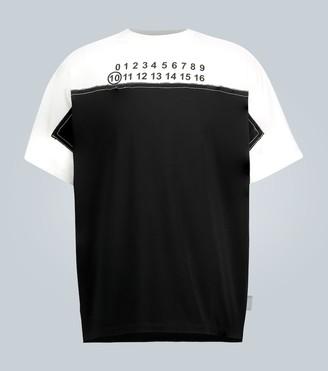 Maison Margiela Trompe L'Ail logo T-shirt