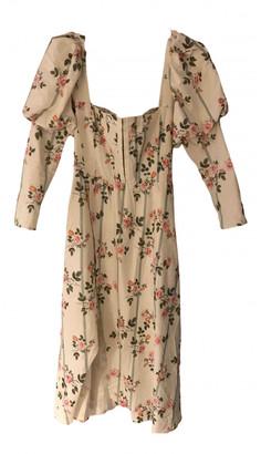 For Love & Lemons Multicolour Linen Dresses