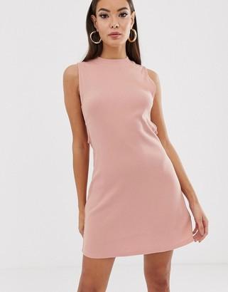 RVCA Talin cut out dress in pink