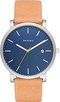 Skagen Men's SKW6279 Hagen Light Brown Leather Watch