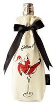 Kate Spade Jolly Santa Holiday Canvas Wine Tote