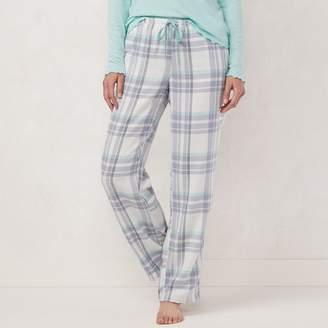 Lauren Conrad Women's Flannel Sleep Pants