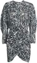 IRO Fenian Animal-Printed Chiffon Dress