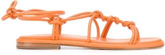 Hereu Fermada knotted sandals