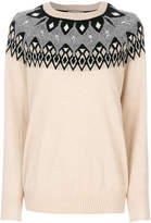 N.Peal jewelled fairisle jumper