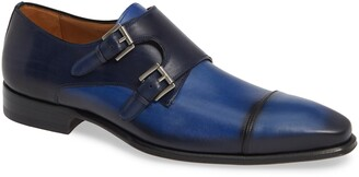 Mezlan Bardem Double Monk Strap Shoe