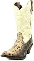 Durango Women's Crush Scalloped Snake Print Cowgirl Boot Pointed Toe US