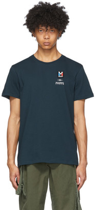 Phipps Blue Millet Edition Timeline Print T-Shirt