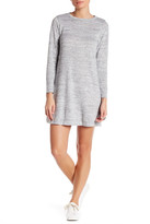 Bobeau Long Sleeve Swing Dress (Petite)