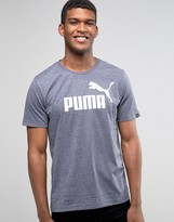 Puma No.1 Logo T-shirt In Blue 83824306