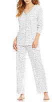 Karen Neuburger Ditsy Floral Pajamas