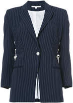 Veronica Beard Taylor lace-up blazer