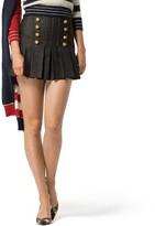 Tommy Hilfiger Collection Denim Mini Skirt