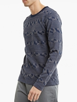 S.n.s. Herning Blue Cotton Petition Sweater