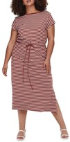 Thumbnail for your product : Only April Short Sleeve String Maxi Dress
