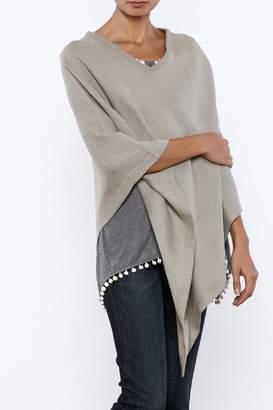 Crown Linen Designs Linen Poncho