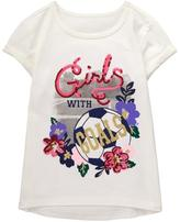 Gymboree Girls With Goals Tee