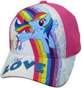 Hasbro Toddler Girls My Little Pony Cotton Baseball Cap, Age 2-5