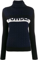 Perfect Moment Cable-Knit Jumper