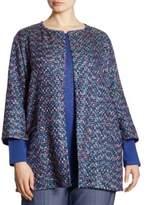 Marina Rinaldi, Plus Size Fatidico Tweed Jacket