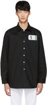 Raf Simons Black Robert Mapplethorpe Edition Self Portrait Oversized Shirt